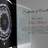 A'Design Awards Certificate for Ruta Mickiene.