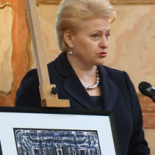 The Republic of Lithuania President's, Dalia Grybauskaitė's, congratualions to Vadovų Klubas.