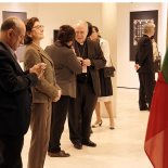 The moments from exhibition. The honorable guests.